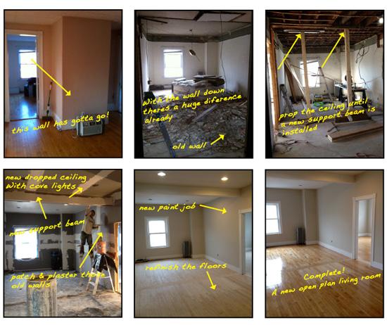 High street open living room expansion wellbuilt