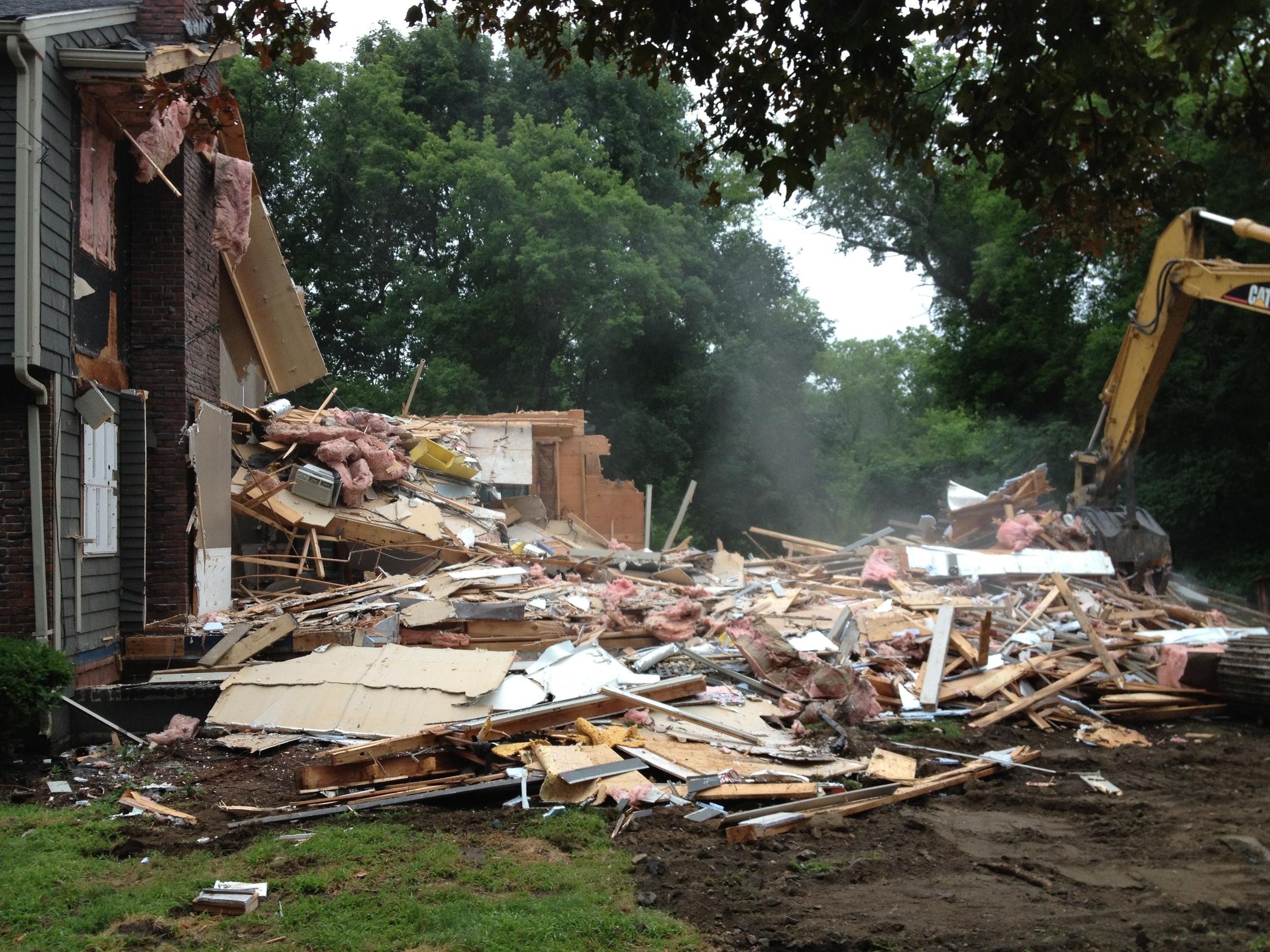 Winchester house demolition wellbuilt