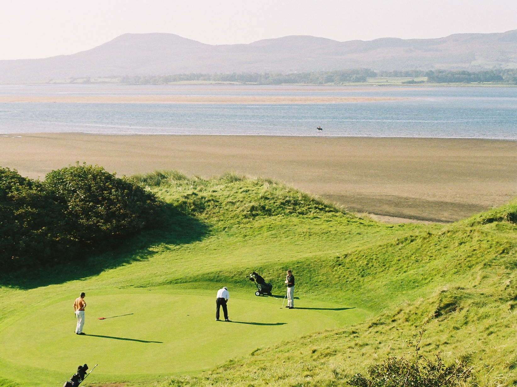 4th Green & Culleenamore Strand.JPG