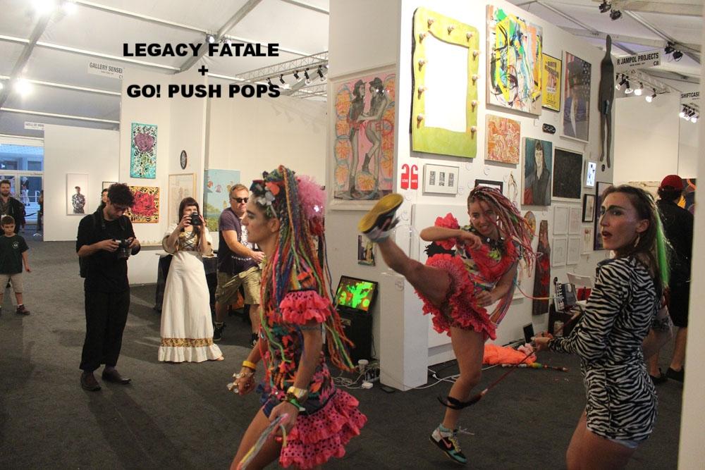 LEGACY FATALE & GO! PUSH POPS
