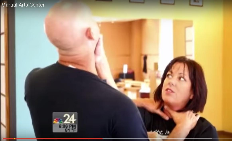 Sempai Shelly Self Defense Move