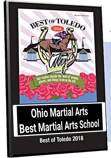 Winner - Best of Toledo! - Toledo City Paper