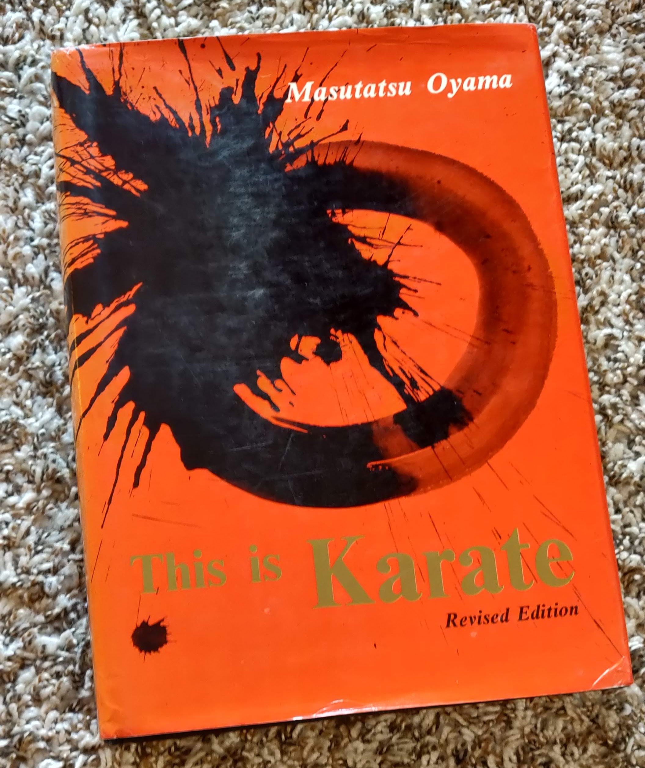 One of my first Karate books. -