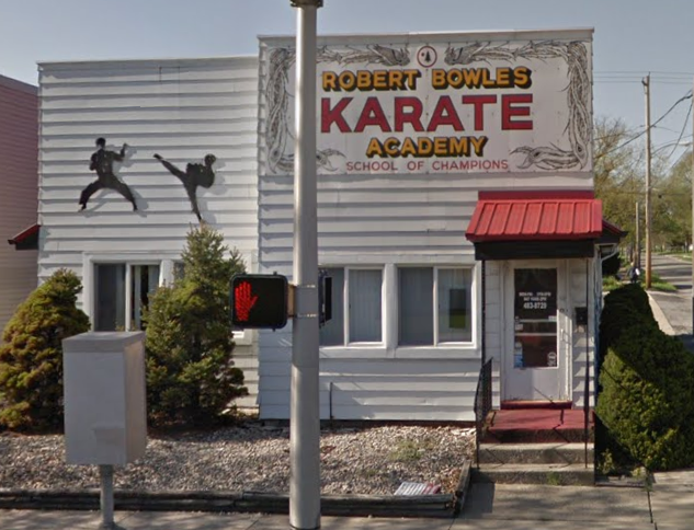 My old stomping ground. - The dojo on State Street in Fort Wayne Indiana I managed before moving and opening in Toledo.
