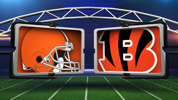 Without a recognizable logo the Browns are often represented in TV graphics packages by a picture of their famously blank helmet.