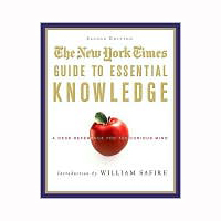 Senior Editor: NYT Guide to Essential Knowledge (ed. 2010)