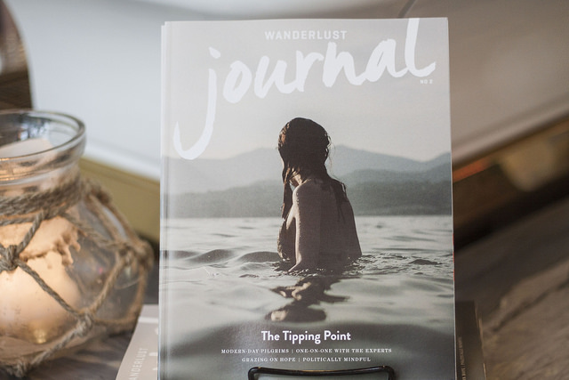Politically Mindful , a longform feature in the 2016 print Journal.