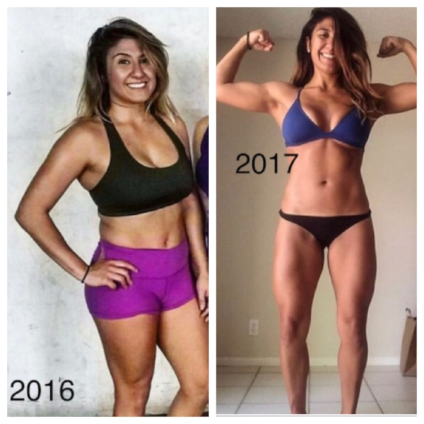 """PATRICIA'S STORY - """"I feel more confident, secure, and most of all strong! A day without CrossFit makes me feel sluggish and I enjoy the daily challenges and the constant progression in strength and gymnastic abilities I have been able to conquer. It has helped me mentally, physically and helped with my nutrition. It's my 'fun-zone', my place to forget the real world. They say how you do something is how you do everything. Its helped with confidence in and out of the gym. Go after what you want!Physically, I've learned how to eat clean and being vegetarian it wasn't easy but definitely fun. Mentally, shut off the doubt, don't half-ass anything you do and just have fun. I think everyone should try CrossFit atleast once—I was once a non-believer that CrossFit was fun, but once I gave it a second chance BOYYYY did i get addicted! You're constantly challenged you will never get bored and you will always have something to strive for."""""""