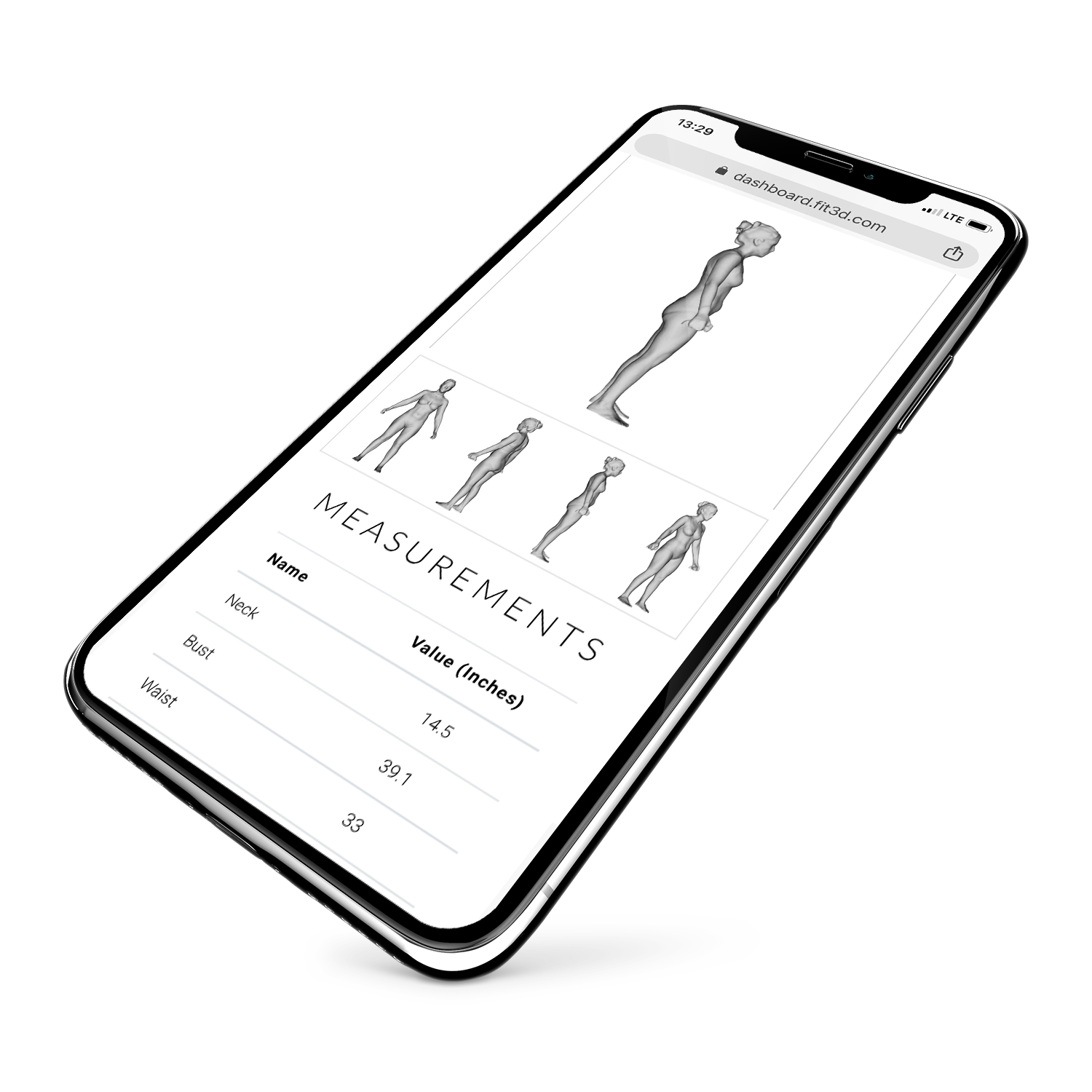 Get the results that matter most to your health and fitness — - Complete Wellness Measurements: Body Shape, Body Composition, Fitness Level, Posture and Balance Report