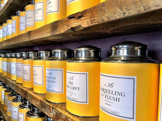 Amazing tea collection in greenpoint, NYC this was at a little secret tea place and its totally delicious and with style. #ilovenewyork. #bellocq @bellocq . . . . #nyc #photography #tea #yellow #instagood #greenpoint #belasco #explore