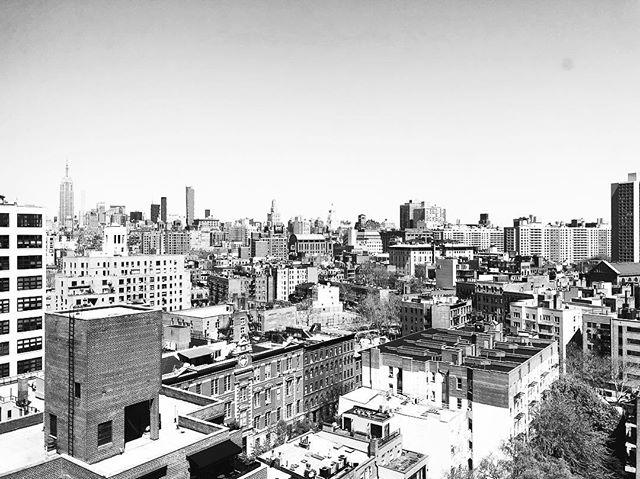 Office view from Soho, easy commute from Brooklyn :) #nyc #blackandwhitephotography #soho