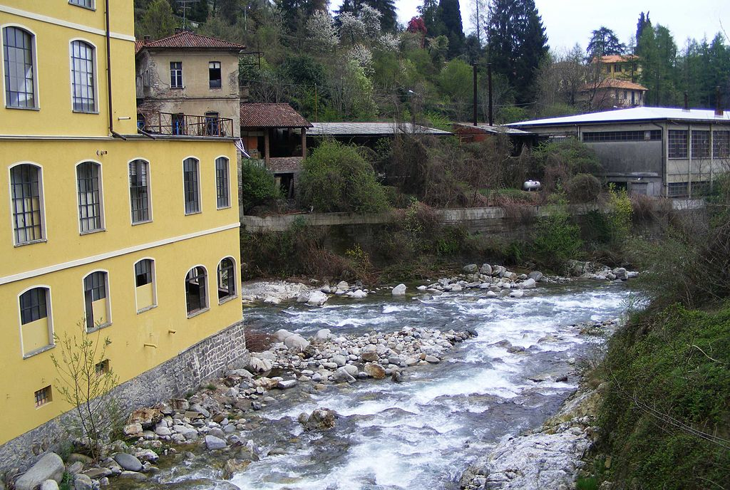 One of the many soft-water Alpine rivers that flow around the city.