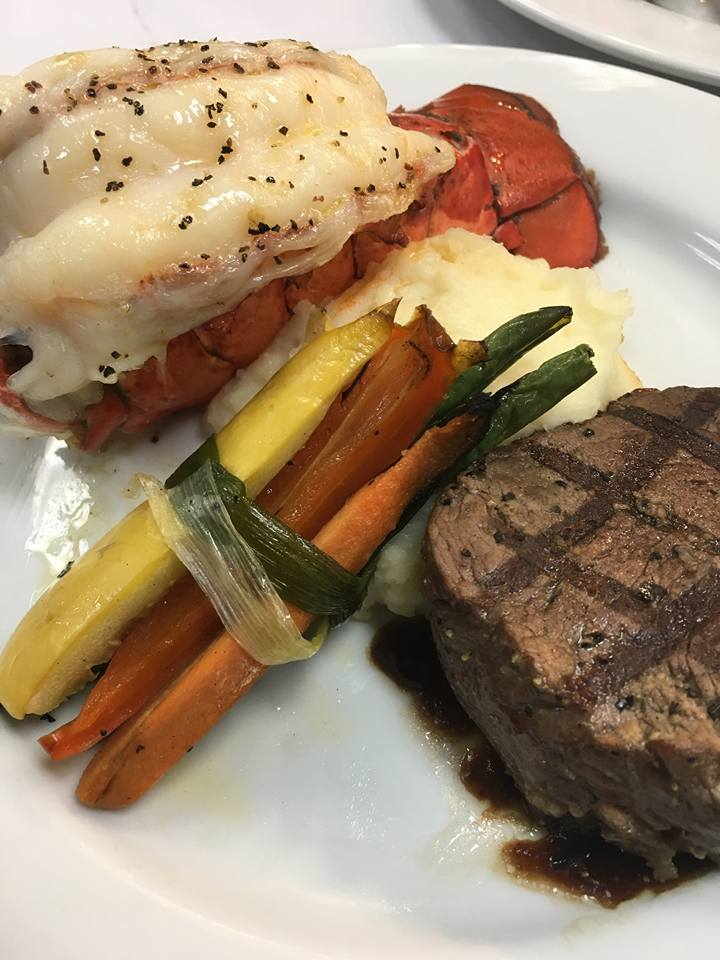 Our Steak and Lobster Dinner