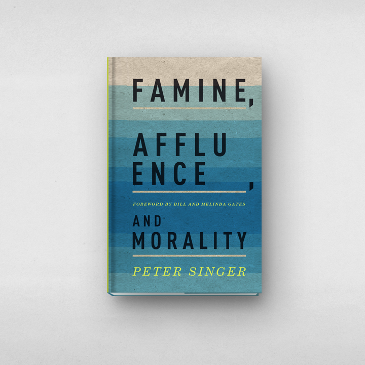 Famine, Affluence, and Morality designed by Arthur Cherry