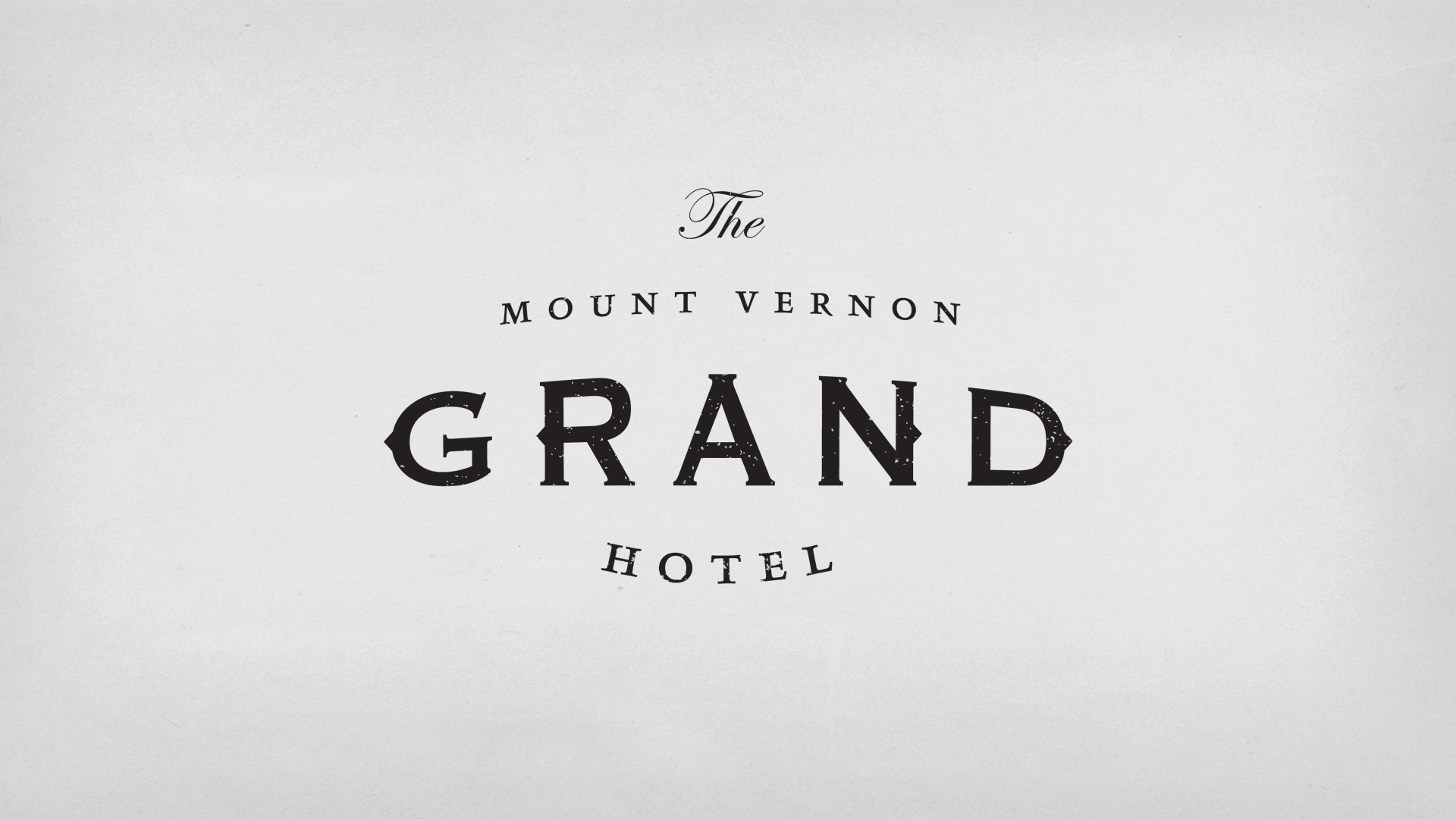 The Grand Hotel Logo designed by Arthur Cherry
