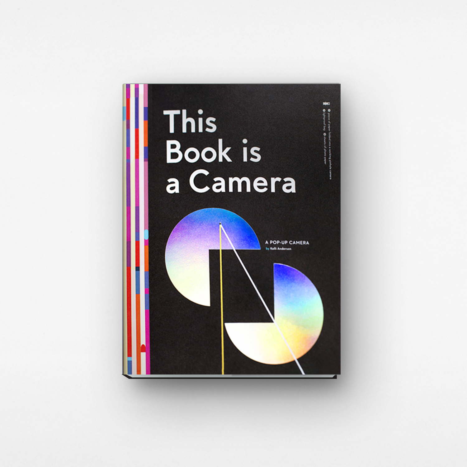 This Book Is A Camera designed by Kelli Anderson
