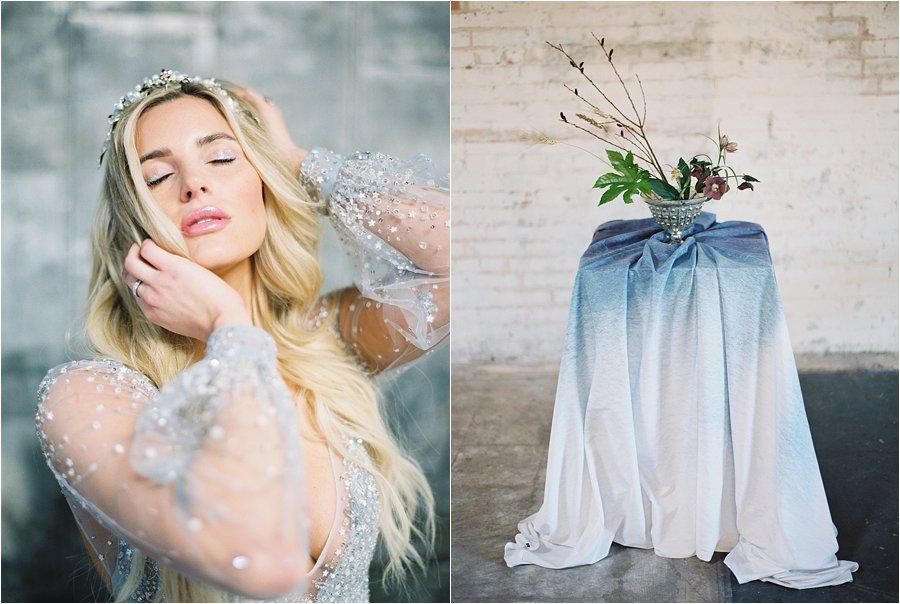 Brides of North Texas Stargazer Fall/Winter wedding editorial, by Dallas destination wedding photographer Tracy Enoch