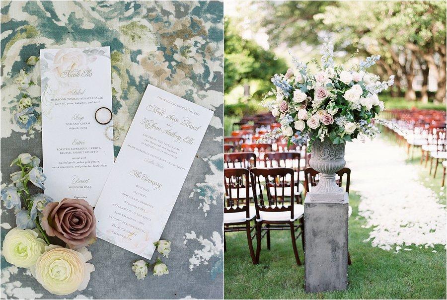 Summer Floral Garden Party Wedding at Marie Gabrielle, by Dallas destination wedding photographer Tracy Enoch