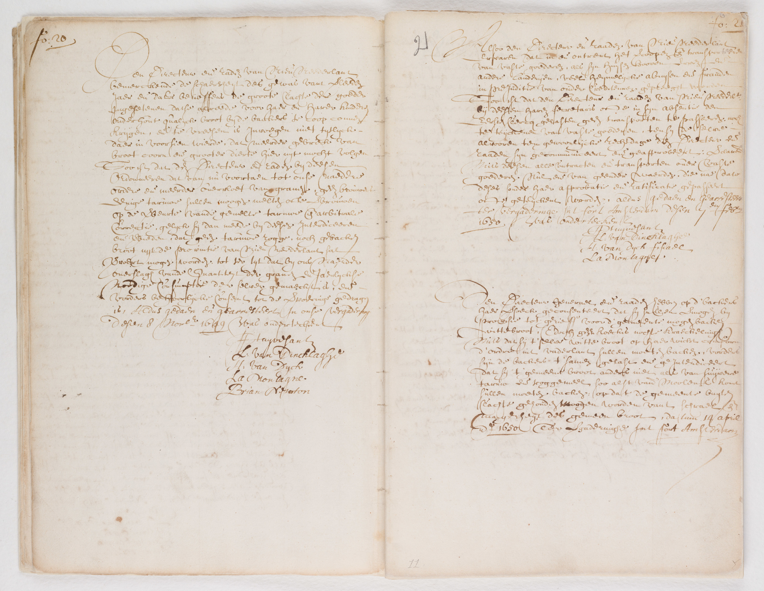 Ordinances of New Amsterdam, page 20-21