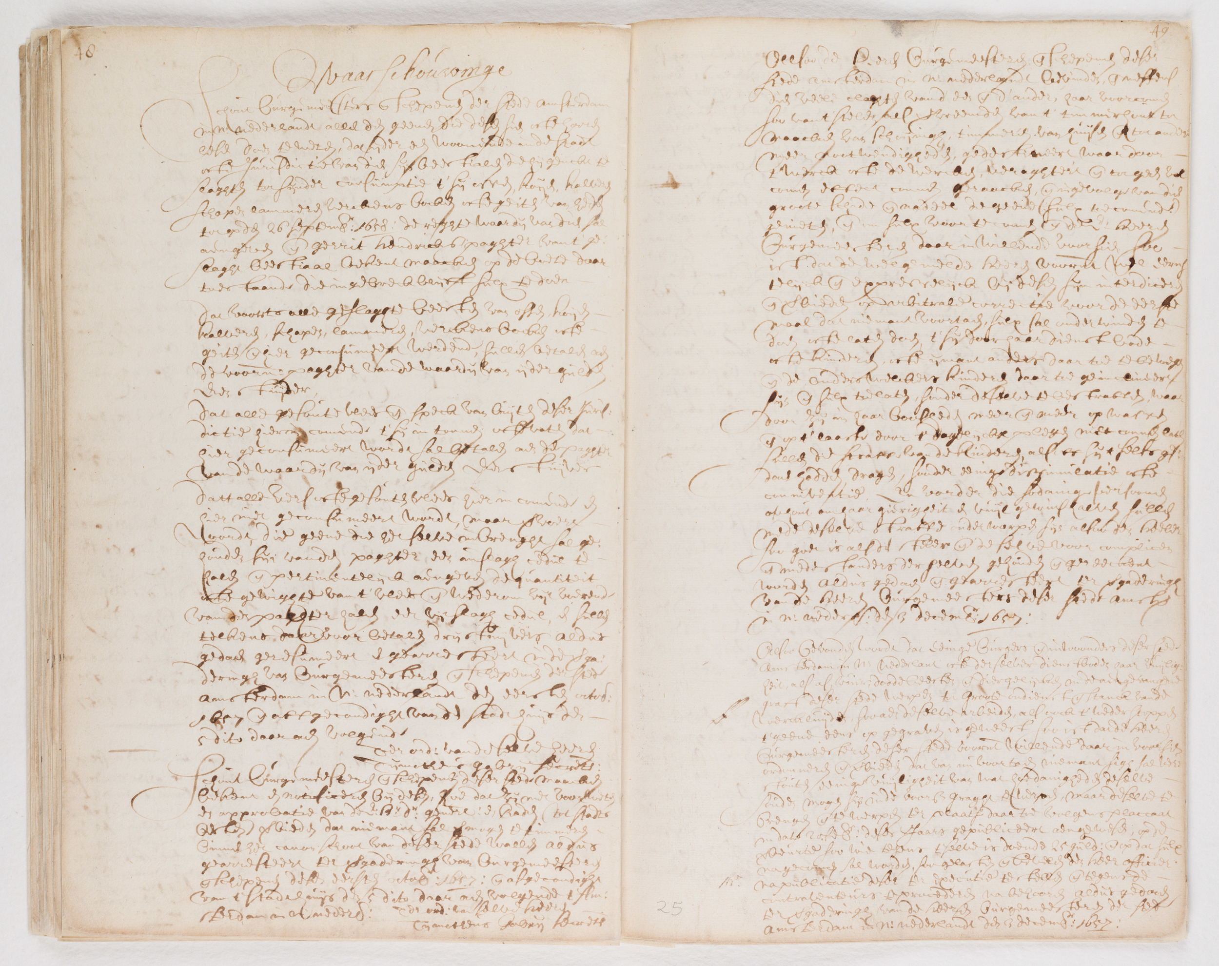 Ordinances of New Amsterdam, page 48-49