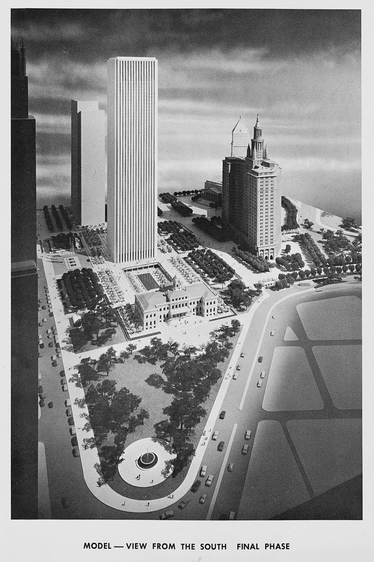 Proposed Civic Center, 1963