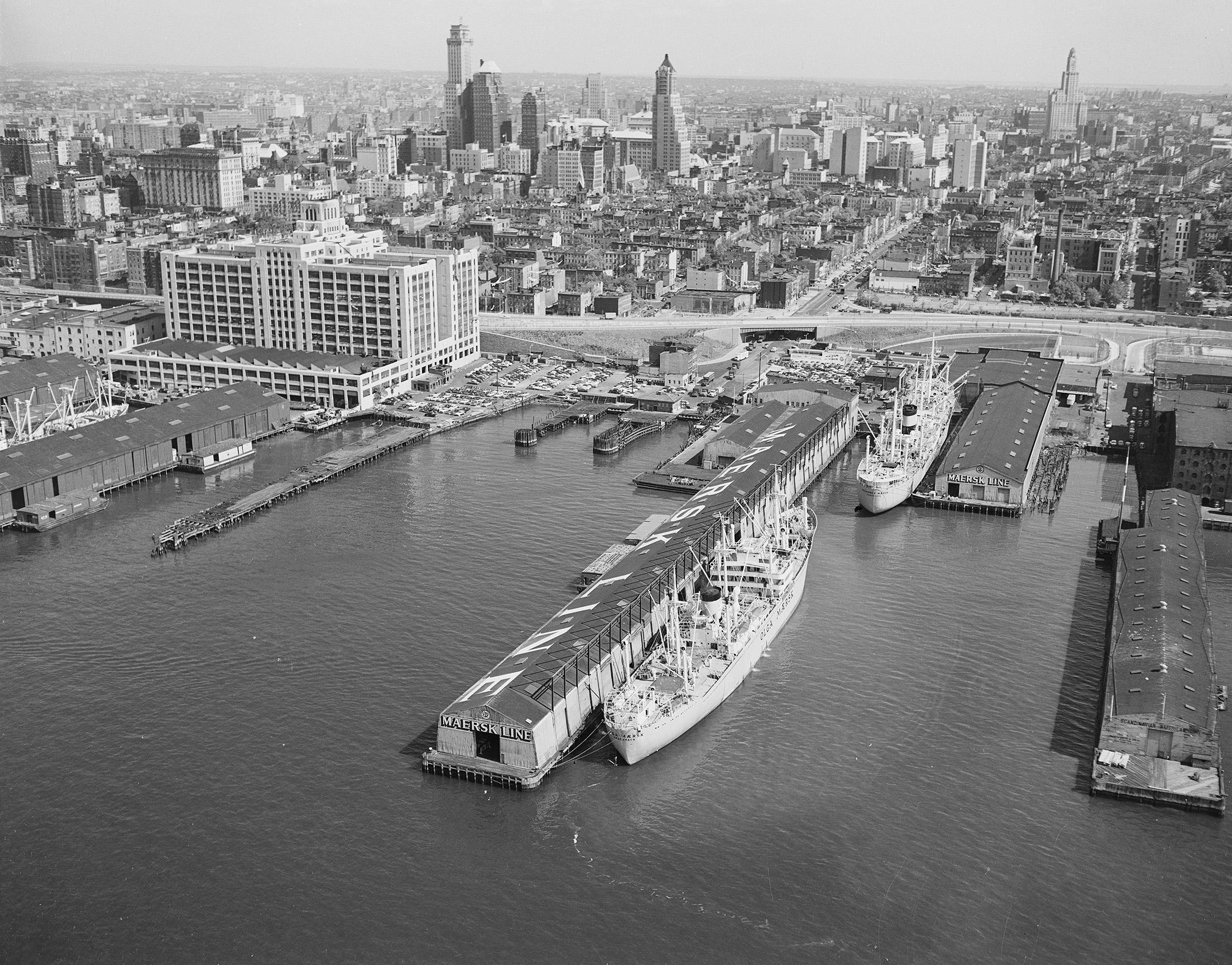 Atlantic Avenue, Brooklyn, September 19, 1956