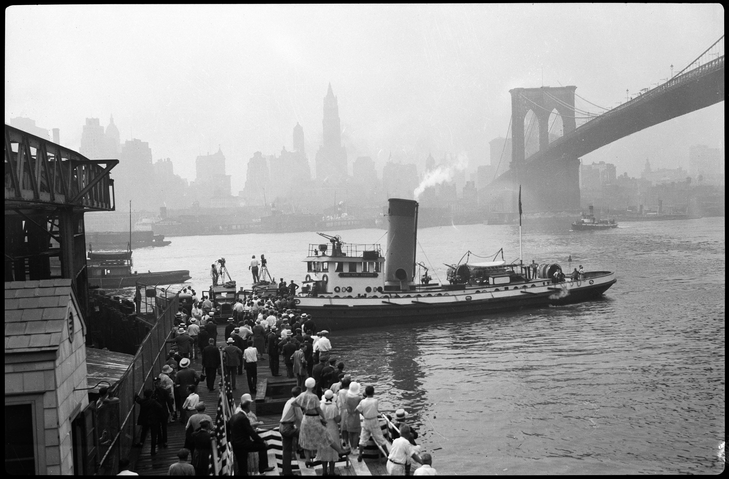 Opening of FDNY Marine Station, July 28, 1931