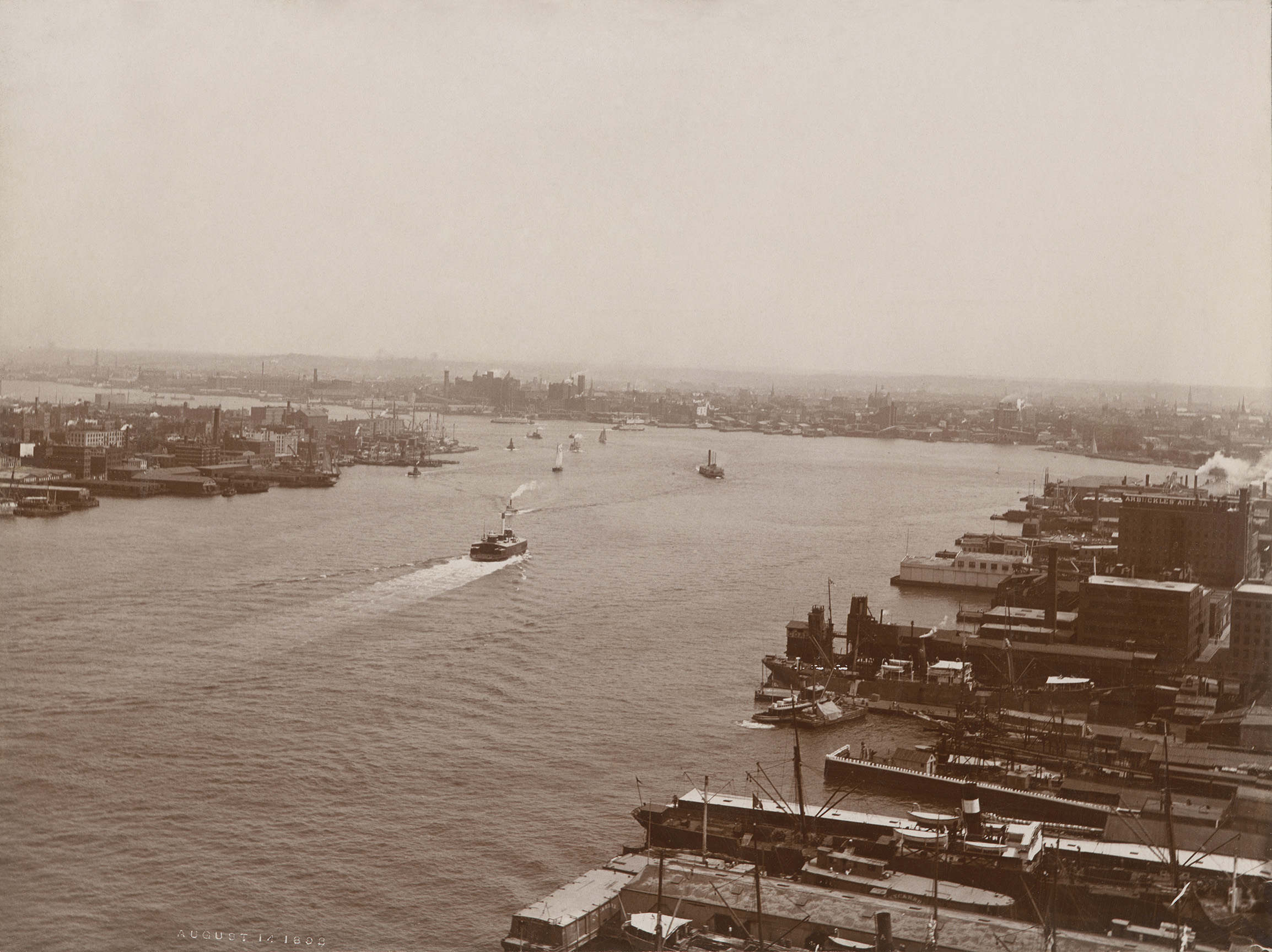 East River, August 14, 1893