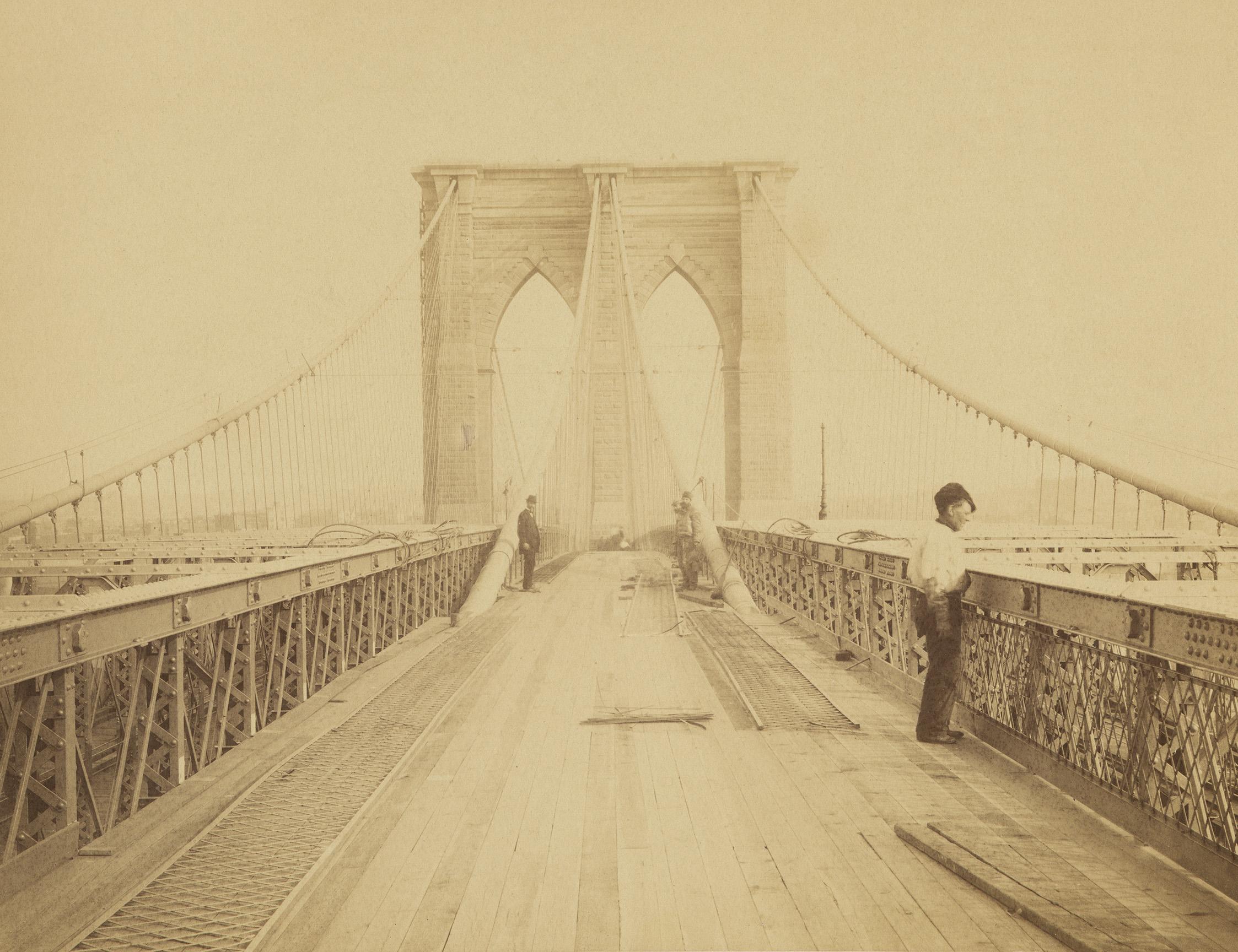 Brooklyn Bridge, ca. 1882-1883