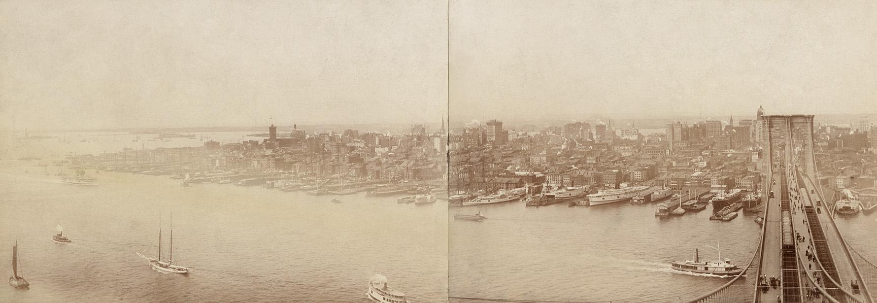 Brooklyn Bridge, ca. 1890