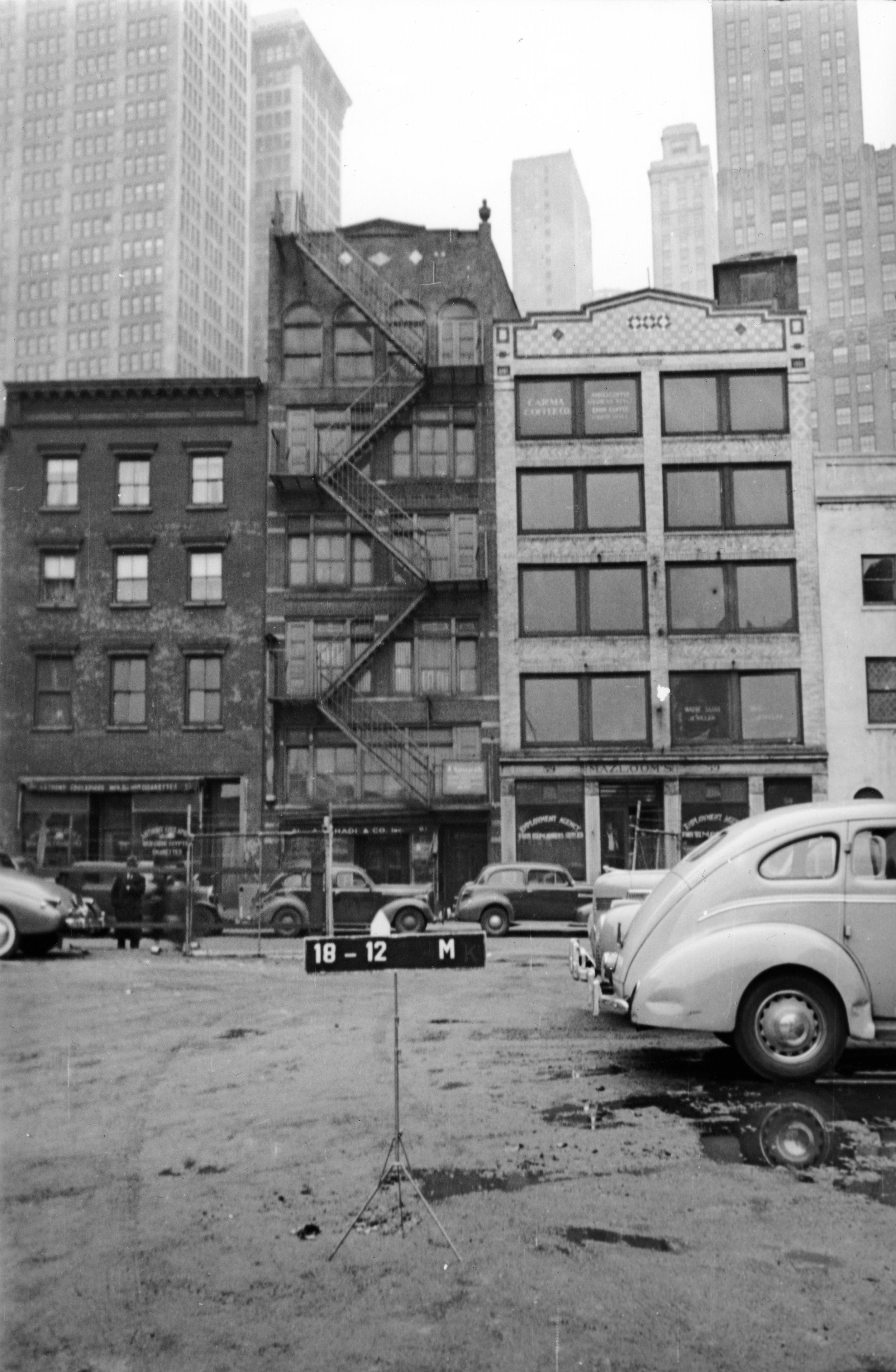 61 Washington Street, ca. 1939