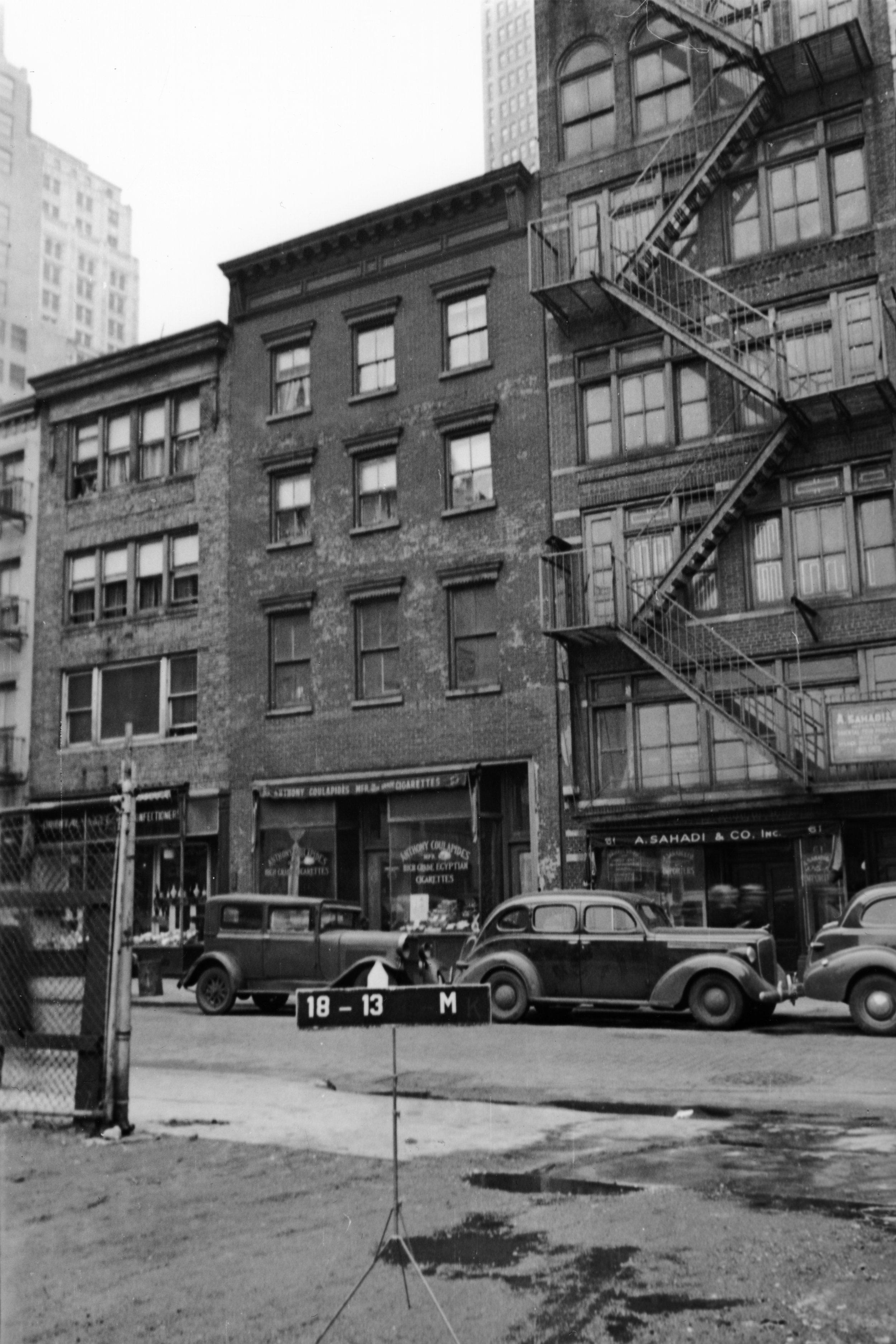 63 Washington Street, ca. 1939