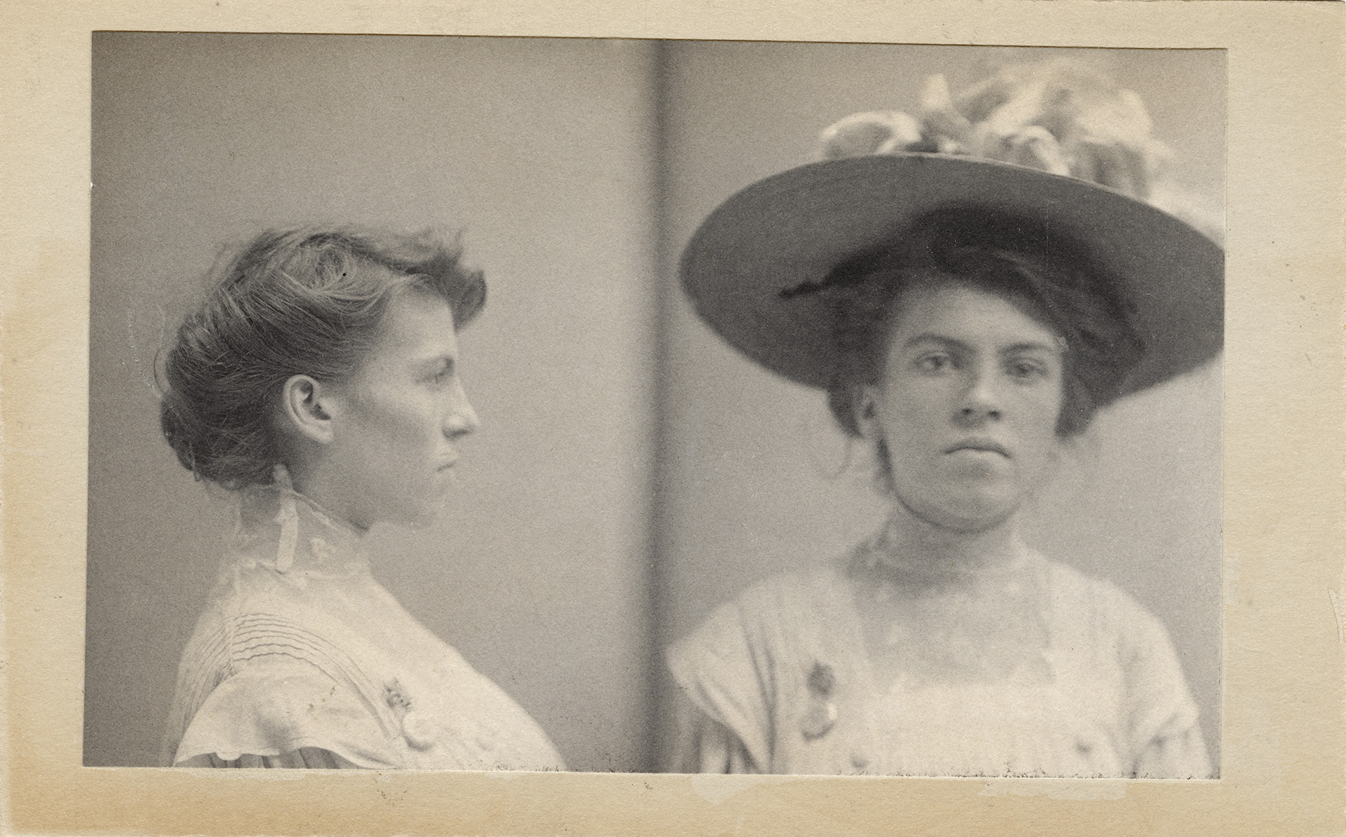 Sadie Schoen, June 25, 1908    Crime: Swindling