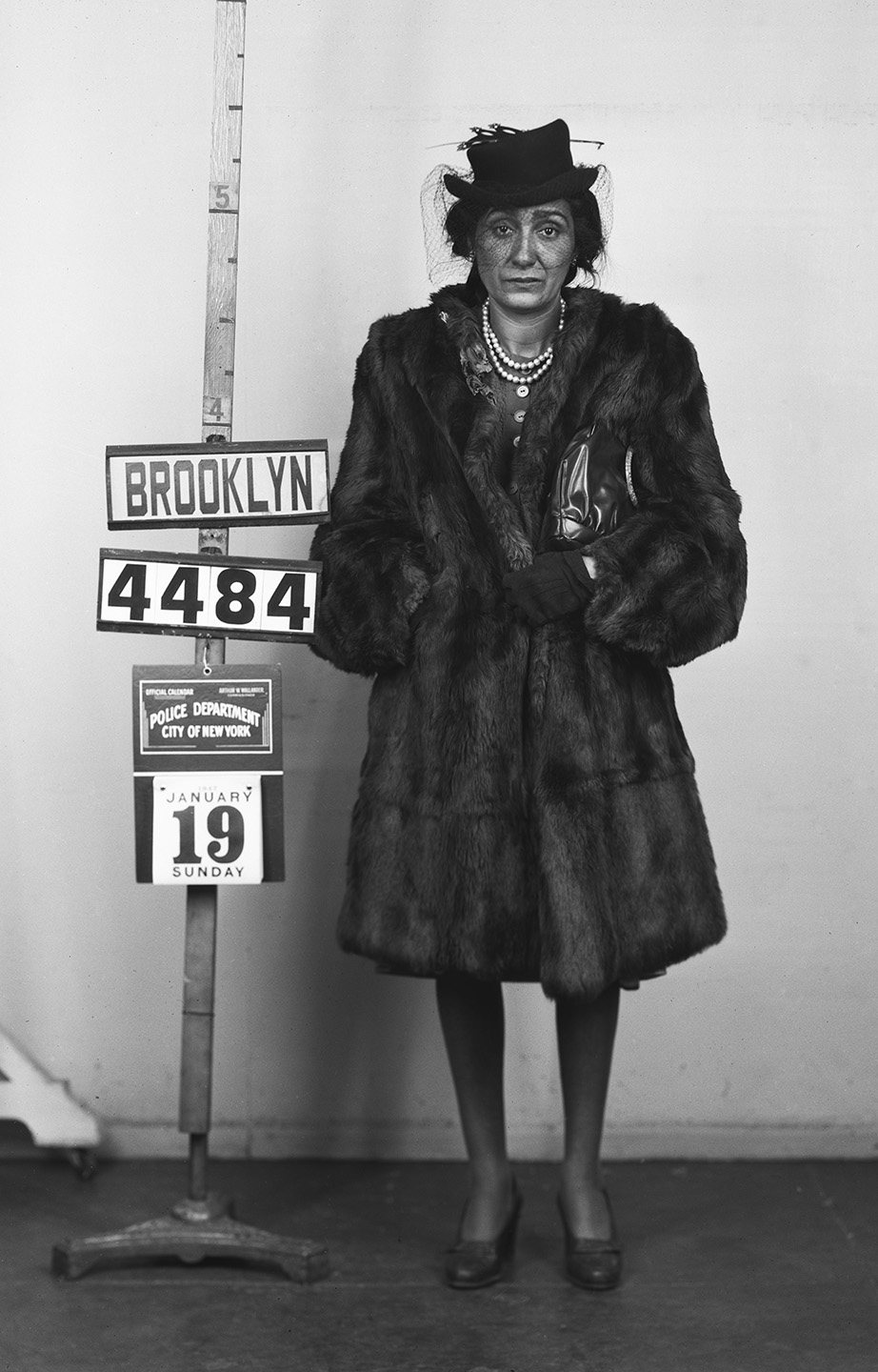BKSU 4484  Bessie Globllo  January 19, 1947  Grand Larceny