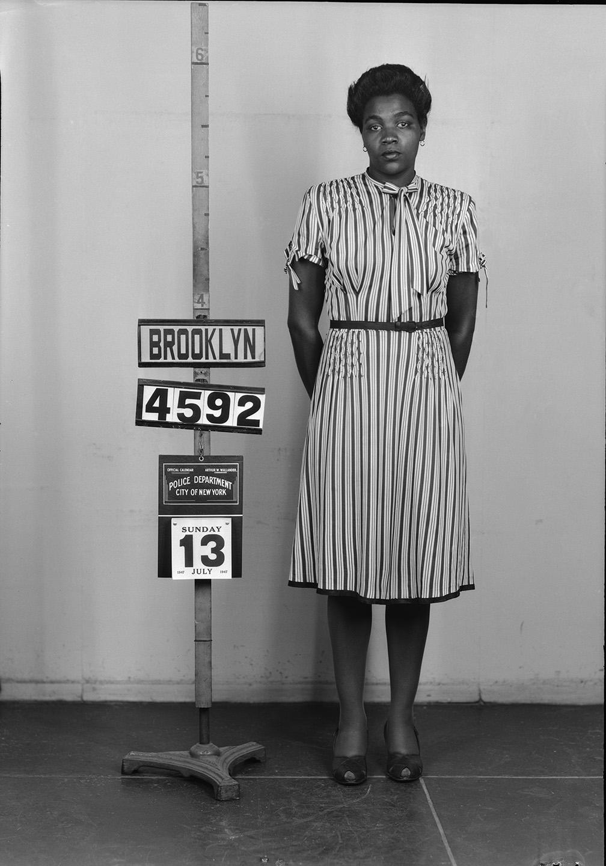 BKSU 4592  Sarah Elizabeth Palmer  July 13, 1947  Homicide and 1897 Penal Law (gun)  Det. Naness, 77 Sqd.