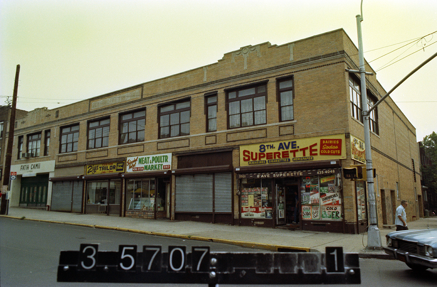 5911 8th Ave. (at 59th St.), Brooklyn, 1983-1988. NYC Municipal Archives.
