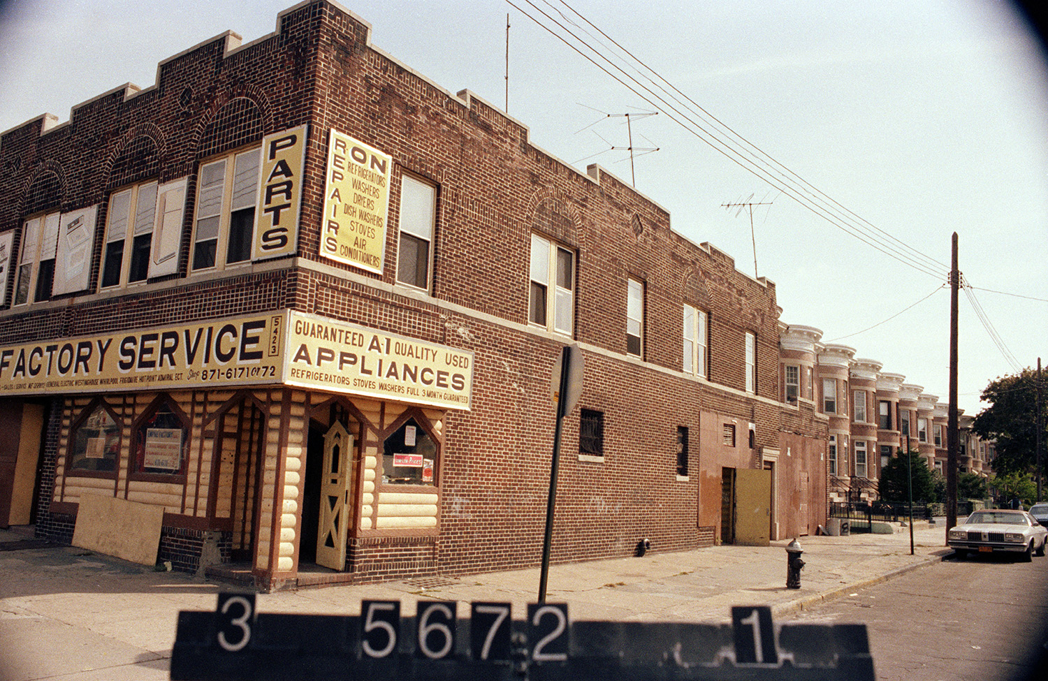 5423 8th Ave. (at 54th St.), Brooklyn, 1983-1988. NYC Municipal Archives.