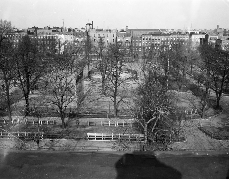 Herbert Von King Park, Brooklyn, 1940. Department of Parks & Recreation collection, NYC Municipal Archives.