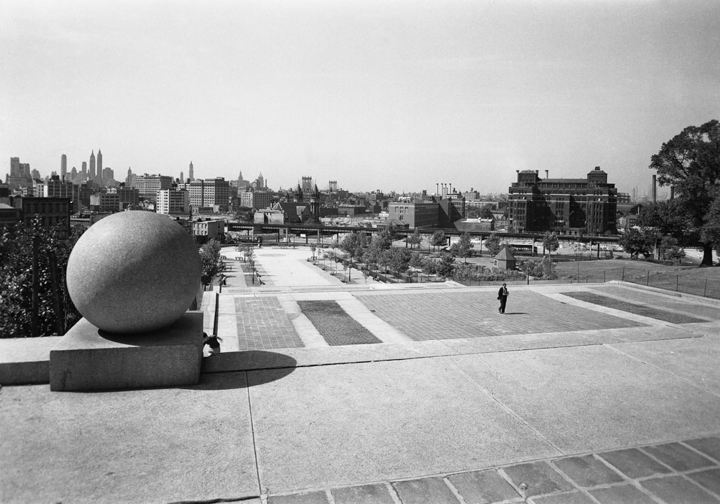 Fort Greene Park, 1941. Department of Parks & Recreation collection, NYC Municipal Archives.