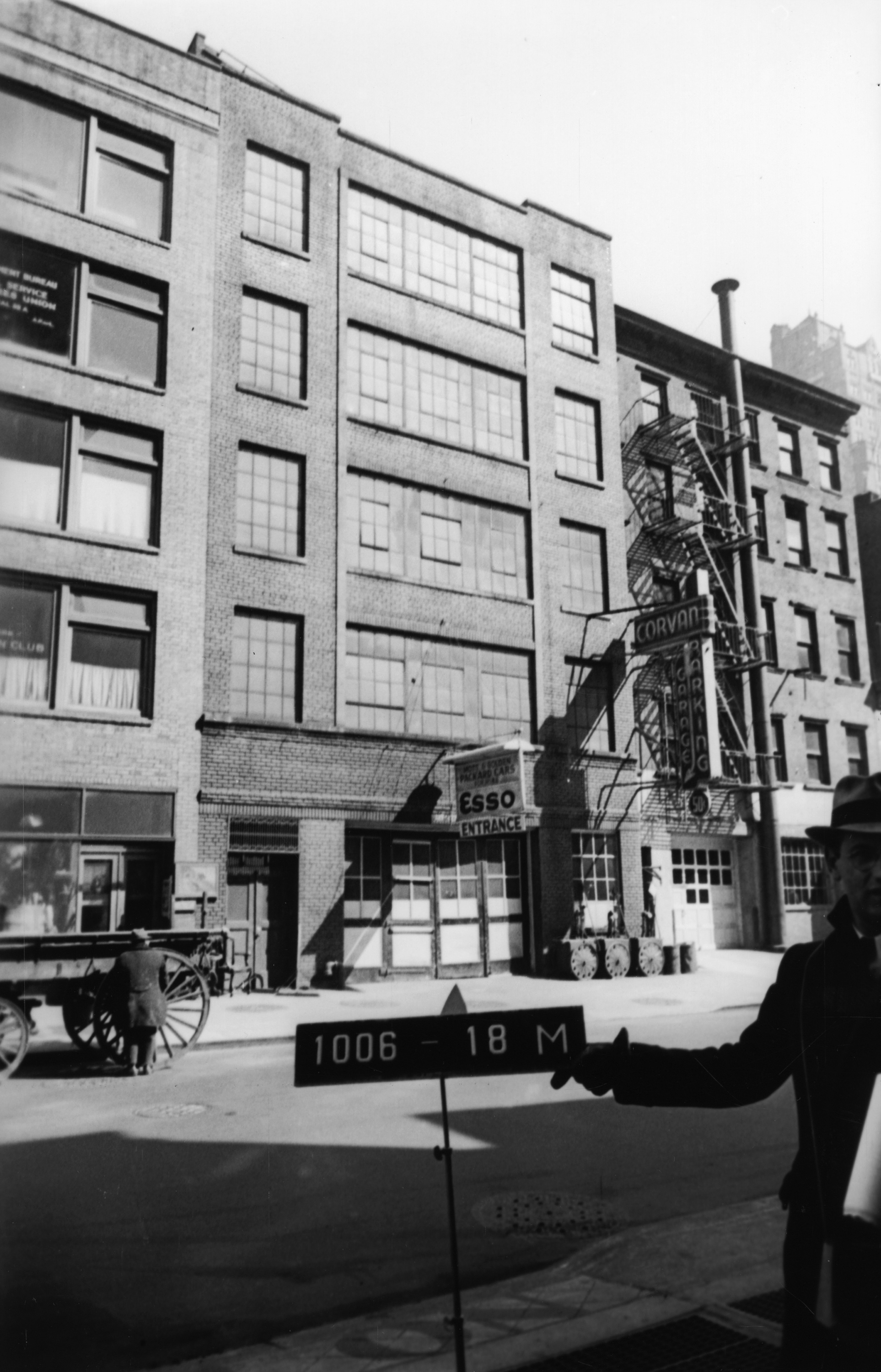 127-129 W. 53rd St., Manhattan, 1939-1941. Department of Finance collection, NYC Municipal Archives.