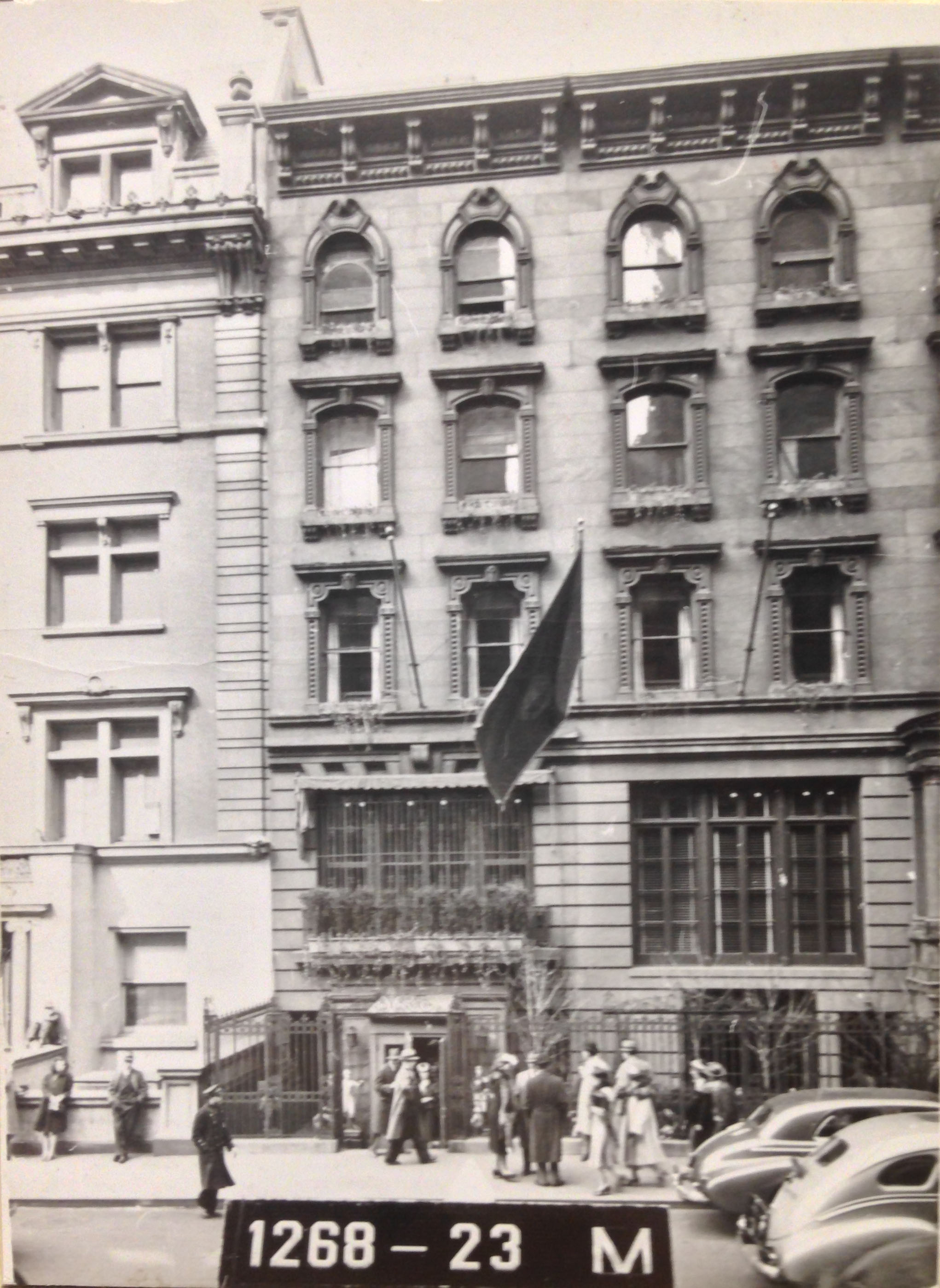 21 W. 52nd St., Manhattan, 1939-1941. Department of Finance collection, NYC Municipal Archives.