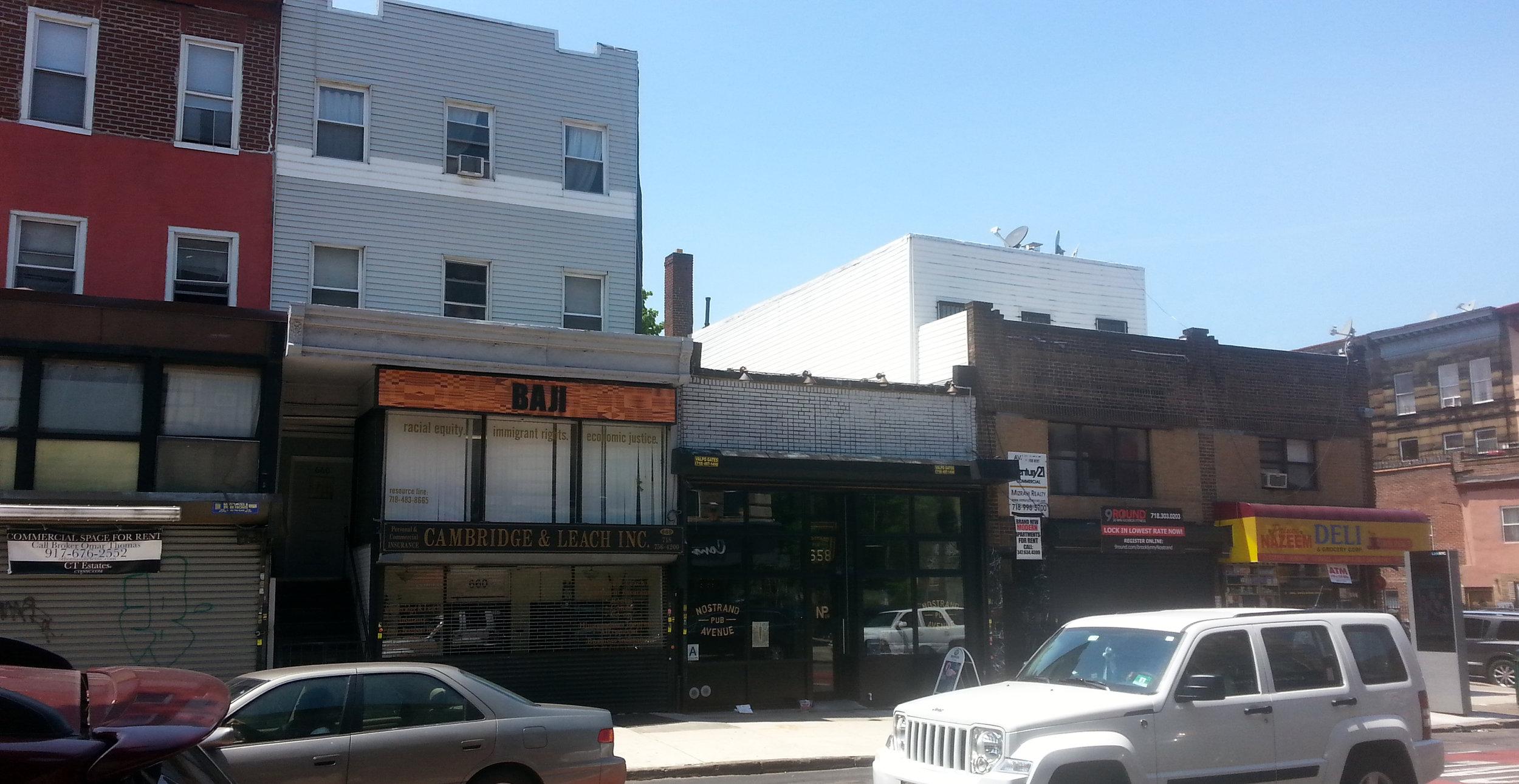 658 Nostrand Ave., Brooklyn, NY. Photo: Darryl Montgomery.
