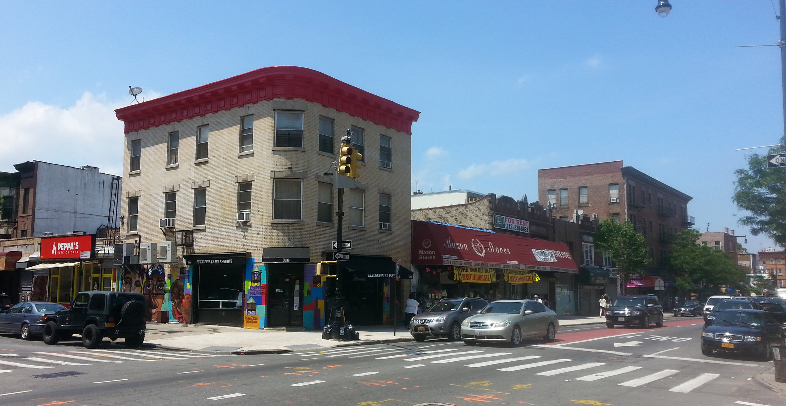 708 Nostrand Ave., Brooklyn, NY. Photo: Darryl Montgomery.