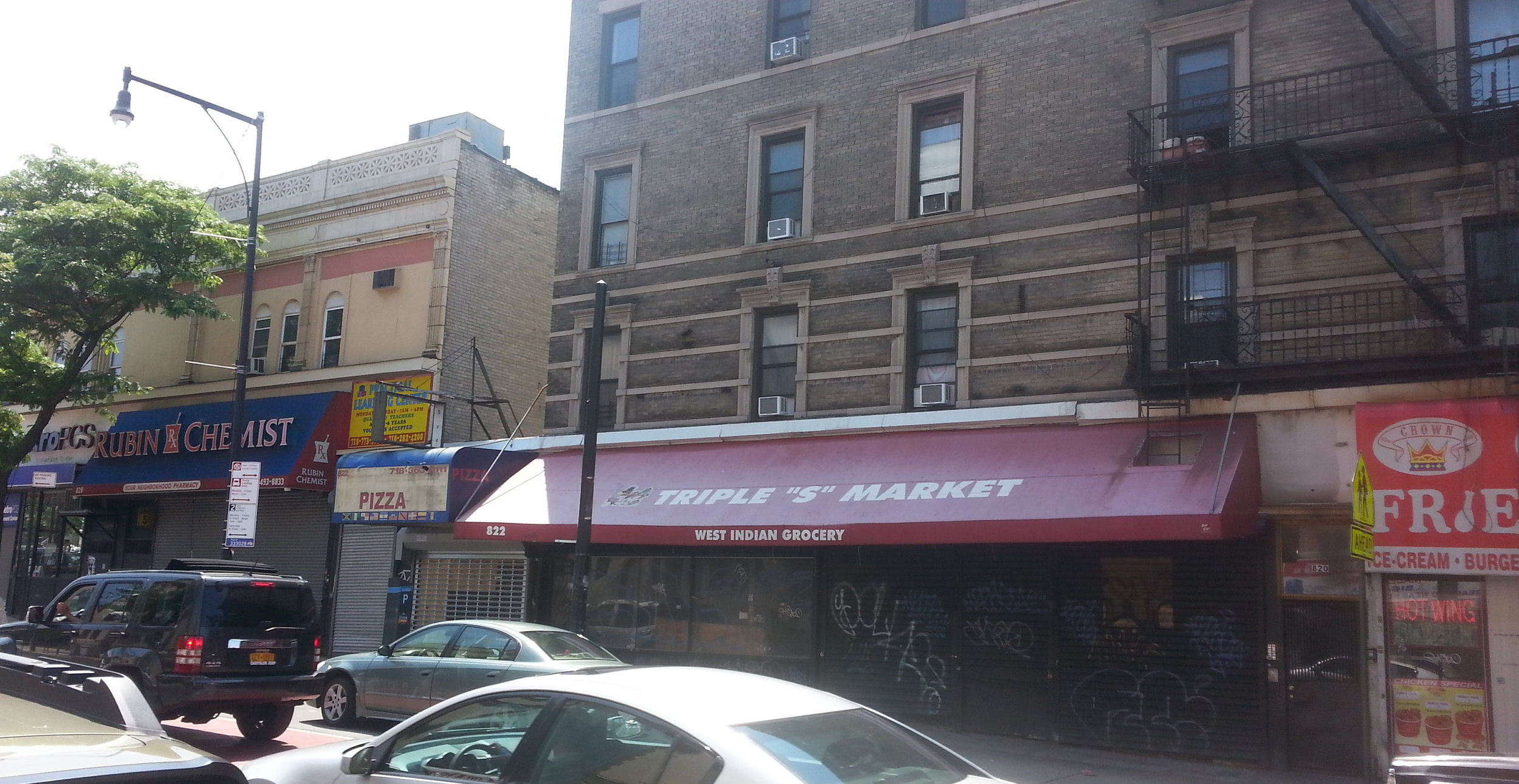 822 Nostrand Ave., Brooklyn, NY. Photo: Darryl Montgomery.