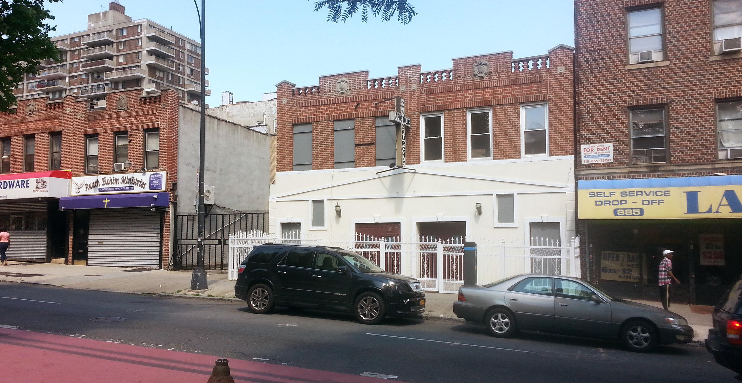 883 Nostrand Ave., Brooklyn, NY. Photo: Darryl Montgomery.