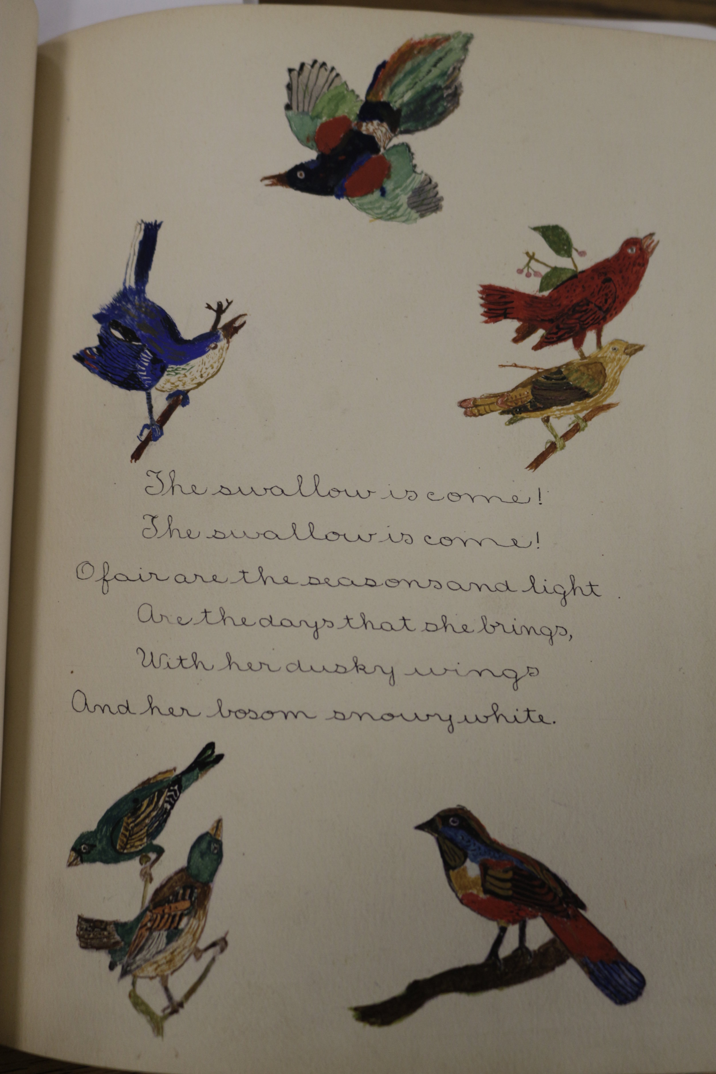 Illustration and poem by Isabella Baird, 14 years old. PS 20, Staten Island.