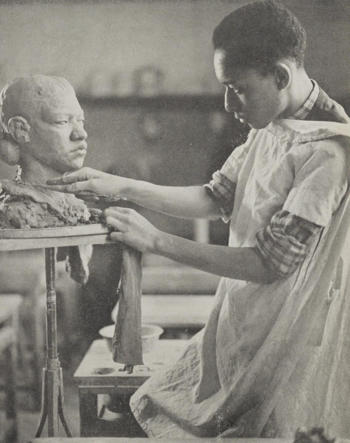 Sculptor.
