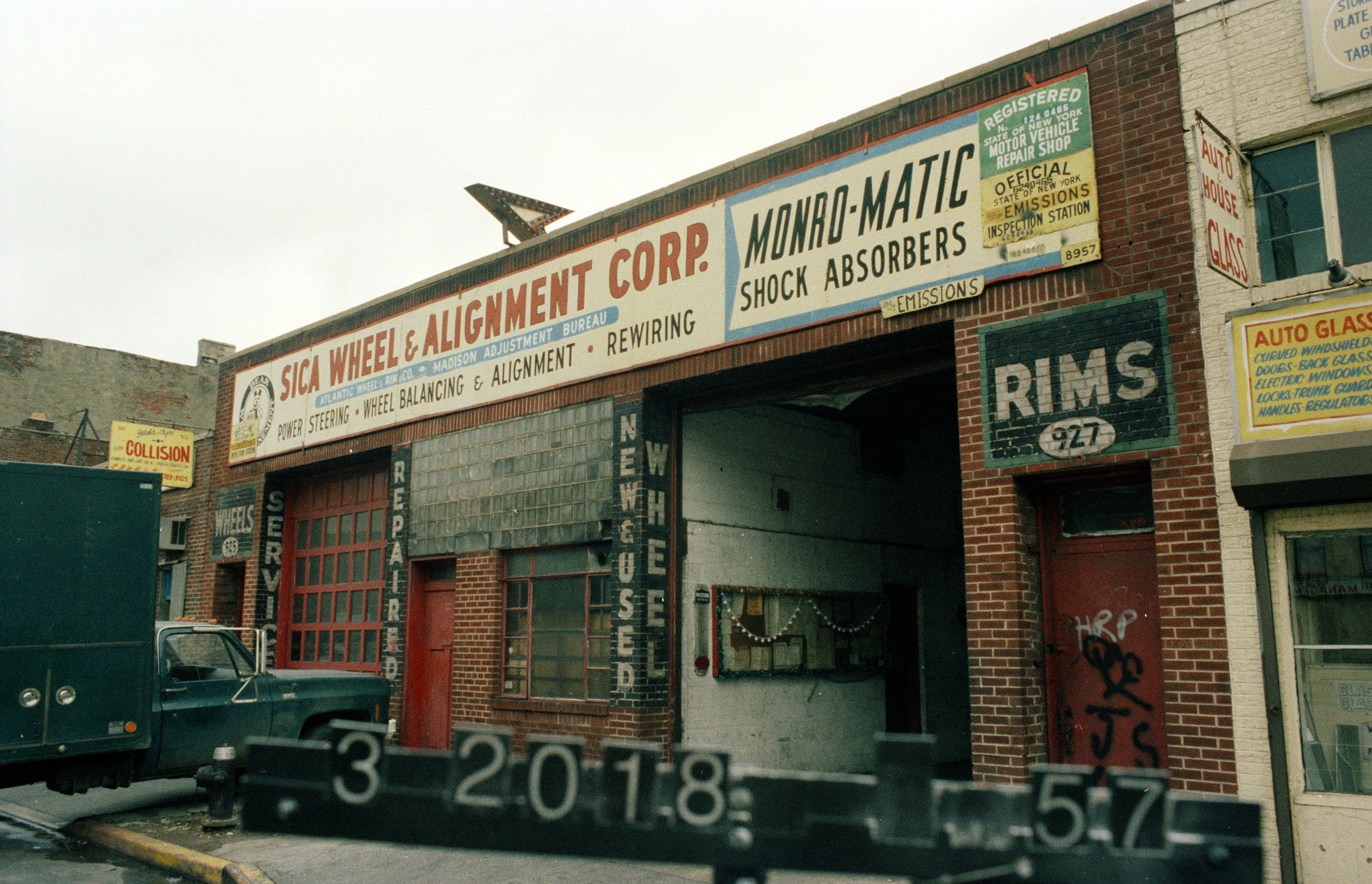 927 Atlantic Avenue, mid-1980s.Department of Finance collection, NYC Municipal Archives.
