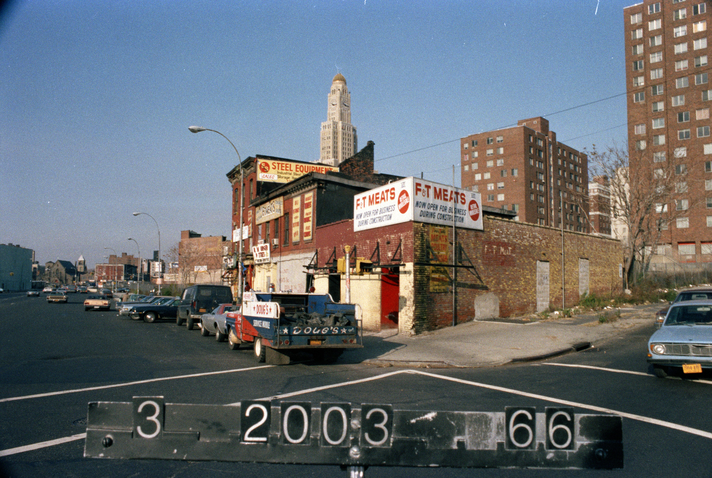667 Atlantic Avenue, mid-1980s.Department of Finance collection, NYC Municipal Archives.