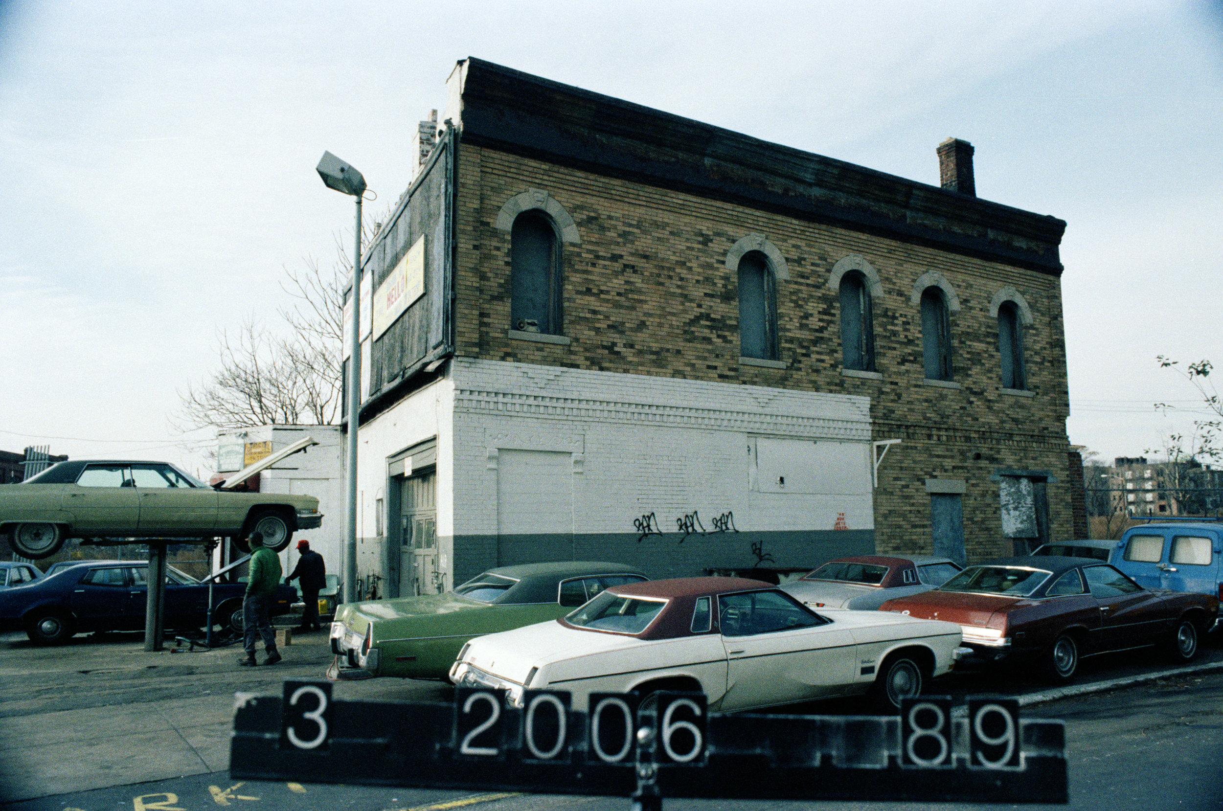 733 Atlantic Avenue, mid-1980s.Department of Finance collection, NYC Municipal Archives.